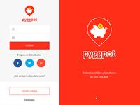 Pyggpot App Design