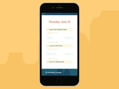 Road Trip Itinerary roadtrip schedule itinerary mobile