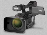Canon EOS video camera