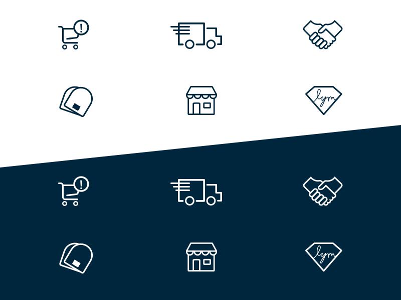 Love Your Melon Icon Set faq icon set icons