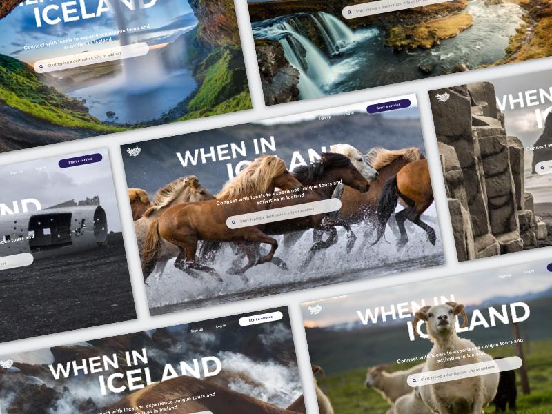 When In Iceland Homepage desktop homepage iceland hero image