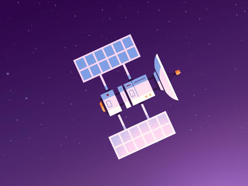 Satellite dribbb