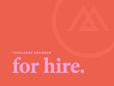 For Hire available for hire freelance