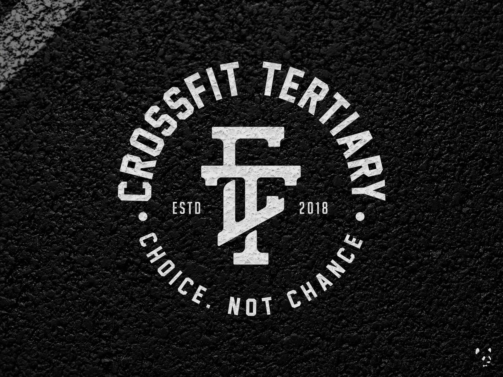 CrossFit Tertiary branding logo design fitness crossfit