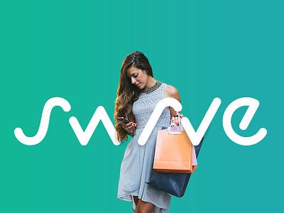 Swrve Logo  website identity design identity branding green logo design logo