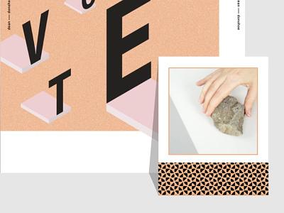 Favorite Rocks Poster rocks graphic design poster design poster
