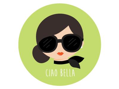 Ciao Bella sticker sticker italia fashion italy sticker mule rebound debut