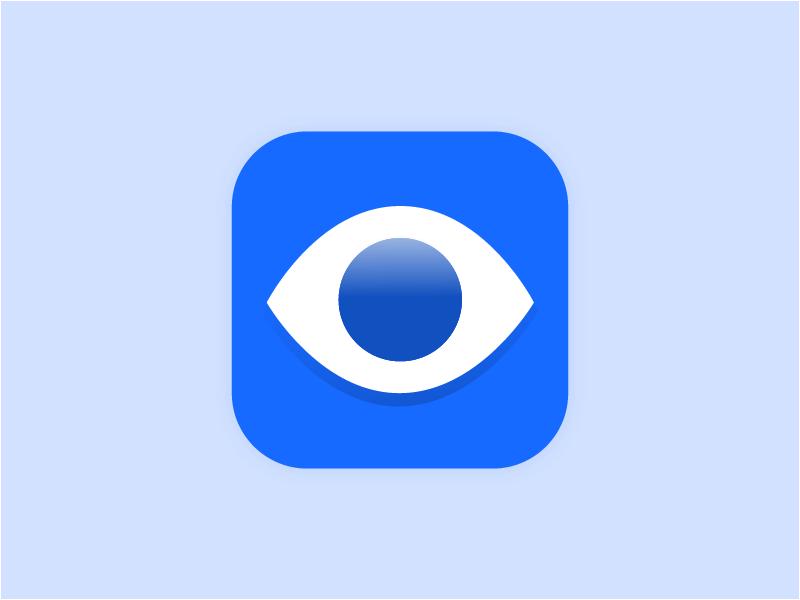 Daily UI   005 App Icon eye icon app design daily ui dailyui