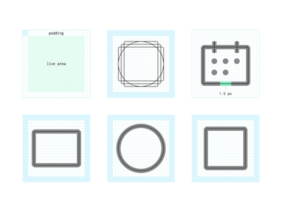 Plaid System Icon Library plaid usability ui interface simple illustration minimalist clean fintech finance visual design system icons guidelines threads systems icon design icons iconography