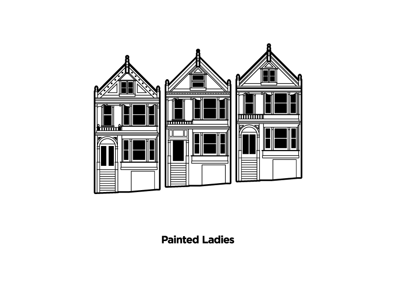Painted Ladies By Ryan Smith For Blend On Dribbble