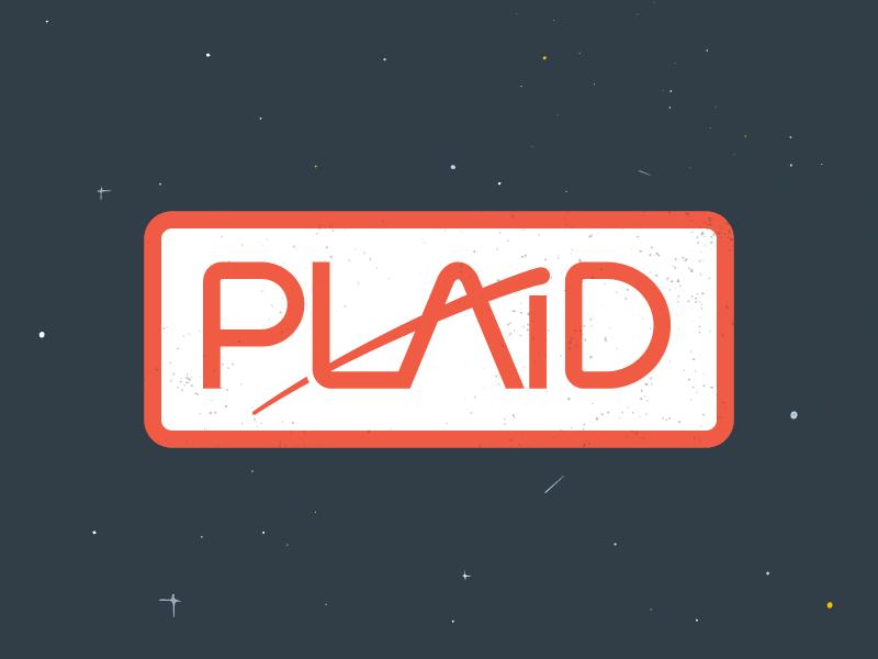 Plaid space logo