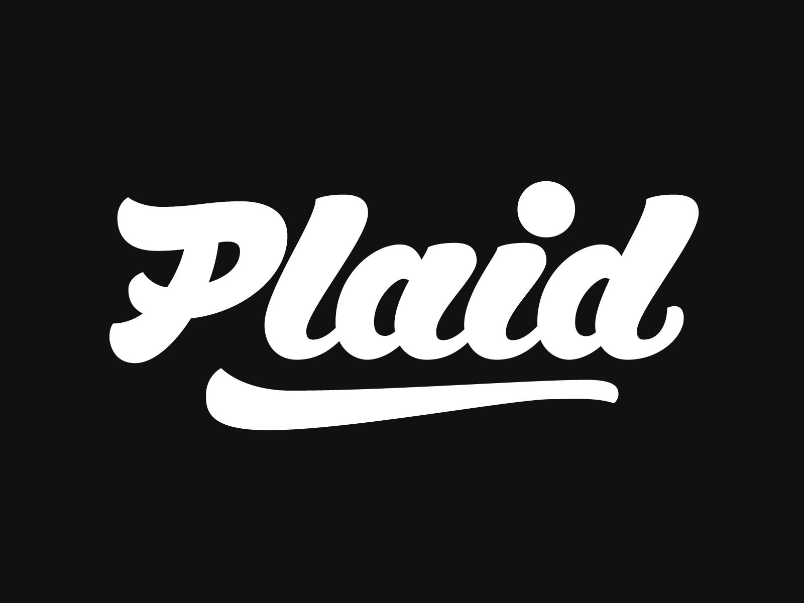 Plaid script dribbble