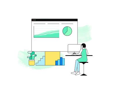 Investments Animation art direction ux plaid san francisco delight art branding illustration api fintech finance animation visual design web design design investments