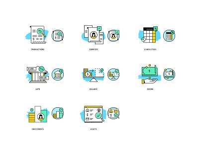 Product Spot Illustrations plaid san francisco products icons branding illustration api fintech finance visual design web design design
