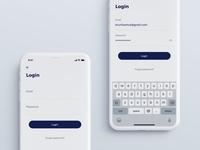 Login Meal Mobile App