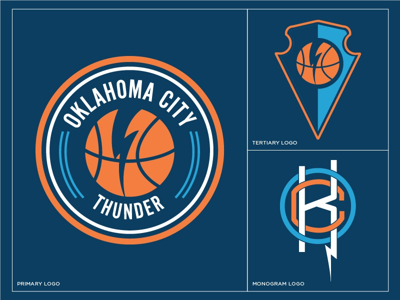 ce31f03ef Oklahoma City Thunder Rebrand by Toby Garner
