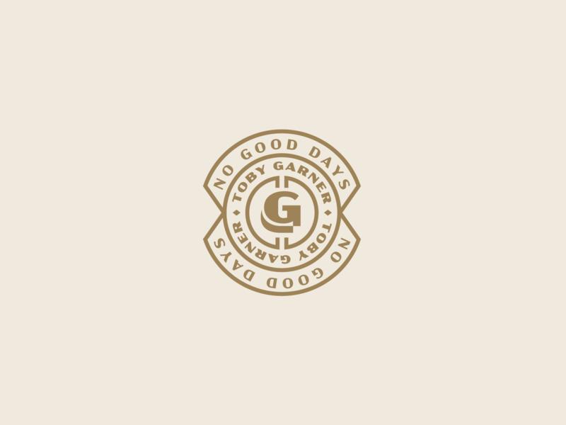Nothing Good brand brand identity g scythe logodesign vintage badge vintage self branding logo