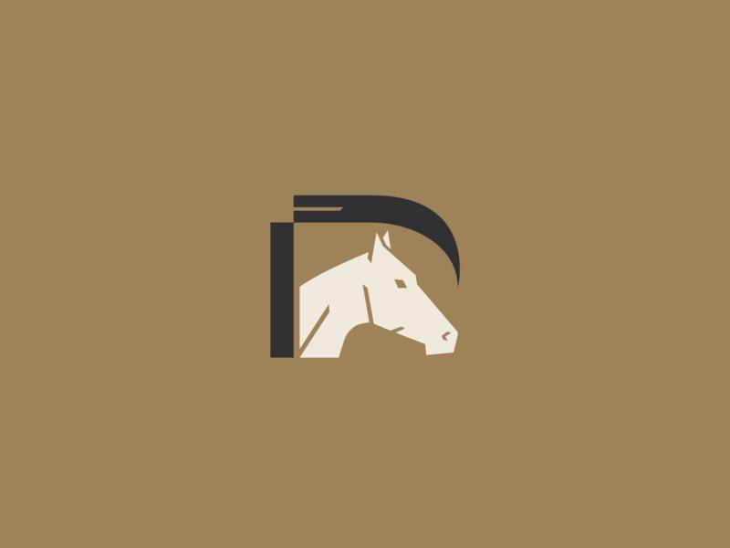 m y   h o r s e logo horse logo self branding brand horse
