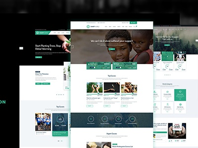 Charity World - Multipurpose Non-profit HTML5 Template volunteer shop nonprofit theme nonprofit non-profit ngo fundraising foundation donations donate charity cause