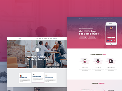 Olio - Premium Multipurpose Marketing Landing Page startup business resume one page multipurpose marketing landing page landing page cv creative corporate business bootstrap responsive app landing