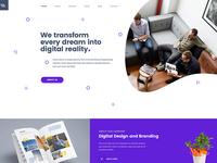 Miex - One Page Parallax