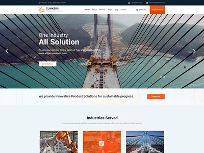Clinkers - Industry Factory & Engineering Template
