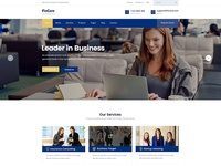Fincore - Consulting Finance & Business Template