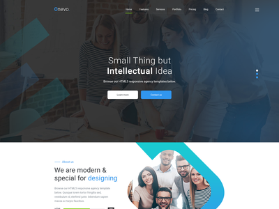 Onevo - One Page Parallax