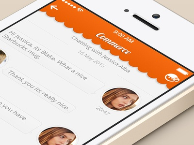 Chatting Screen Design