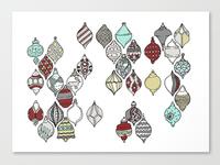 Ornamental Holiday Card