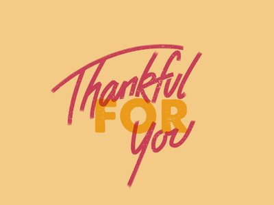 Thankful grunge hand lettering text overlay thankful thanks thanksgiving