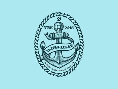 VBS 2018 T-Shirt nautical traditional shipwrecked vacation bible school vbs christ presbyterian church