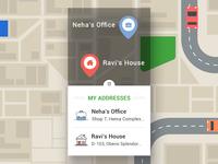 Nanoaddress Mobile App