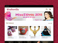 Craftsvilla Web Portal