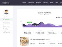 Kipomo web portal