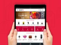 ShopX tablet app