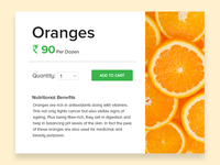 Buyfresh, a web portal to buy organic fruits and vegetables