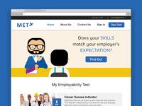 MET, a web platform for aptitude testing