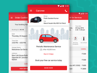 Carcrew, an app for maintaining and servicing your vehicle.
