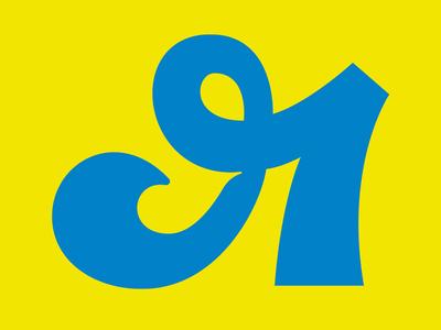 Я logo cursive type art type lettermark letter concept experiment typography script cyrillic