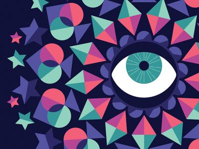 Mesmerized symbols prism mesmeric mesmerized magic eye psychic mandala