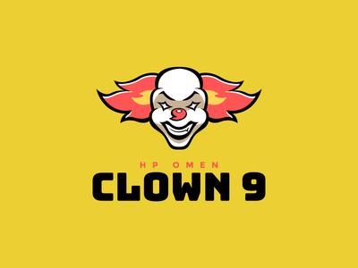 Clown 9 Esports Logo