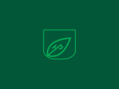 Higher Park leaf logo icon vector illustrator