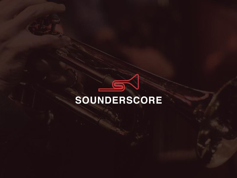 Sounderscore design vector jazz branding logo illustrator