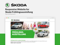ŠKODA Responsive website