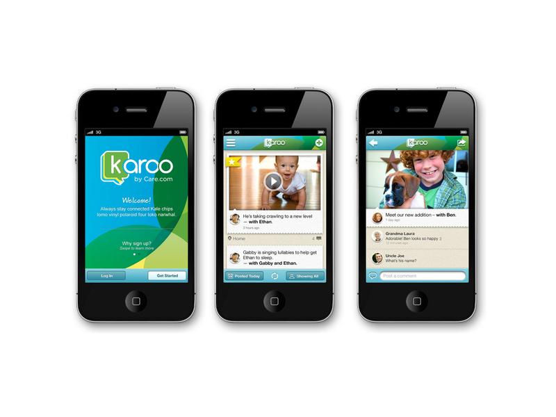 Karoo App app logo ui design branding