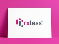 New Logo Redesign for rxless™ medicine medical brand design logodesign logo designer brand identity icon logos typography branding identity logo portfolio logo design