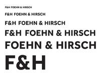 Foehn & Hirsch Logotype Feedback