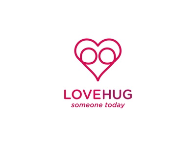 Lovehug Logo Design