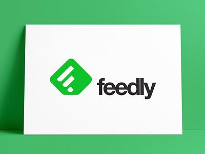 Feedly Logo & App Icon Designed by The Logo Smith icons symbols brand identity logos branding brand application rss feedly app logo marks logo designer icon typography identity portfolio logo logo design